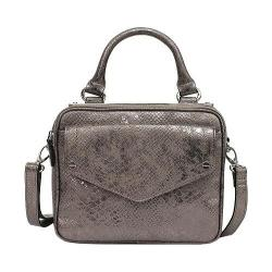 Women's Nicole Miller Hot Plate Cross Body Pewter