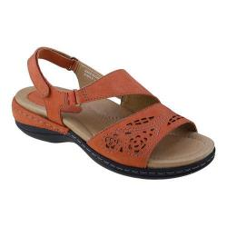 Women's Earth Arbor Slingback Sandal Coral Soft Buck
