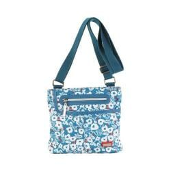 Women's Hadaki by Kalencom Mini Me Cross Body Bag Berry Blossom Teal