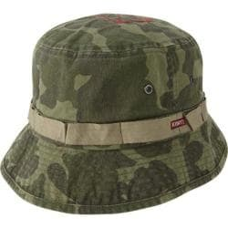 Men's A Kurtz Boone Bucket Hat Woodland Camo