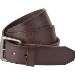 Men's A Kurtz Locke Leather Belt Dark Brown
