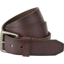 Men's A Kurtz Locke Leather Belt Dark Brown