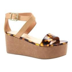 Women's Diba True Outta Site Tortoiseshell/Natural Imi Leather