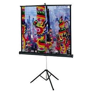 60 in. x 60 in. Da-Lite Versatol Portable and Tripod Projection Screen