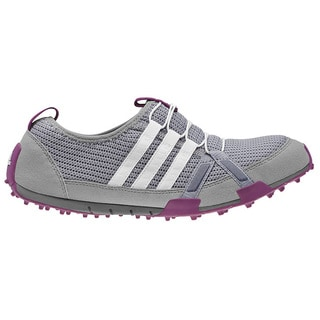 Adidas Women's Climacool Ballerina Light Onix/Running White/Tribe Purple Golf Shoes