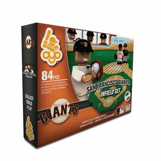 Oyo MLB San Francisco Giants 84-Piece Infield Building Set 16168503