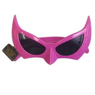 Pink Bat Style Sunglasses