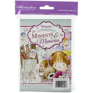 Hunkydory A6 Paper Pad 144/PkgThe Little Book Of Moments & Memories