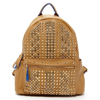 Pink Haley Celebrity Diamond Studded Backpack