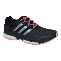 Women's adidas Response Boost 2 Techfit Dark Grey/Black/Super Pop