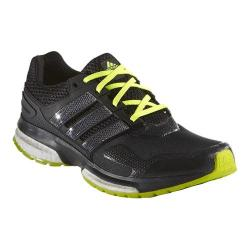 Men's adidas Response Boost 2.0 Techfit Dark Grey/Black/Solar Yellow