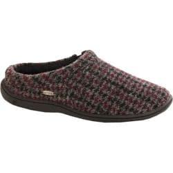 Men's Acorn Digby Gore Burgundy Check Wool