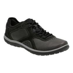 Women's Clarks Aria Lace Up Shoe Black Leather