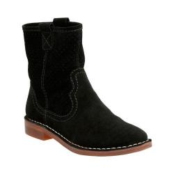 Women's Clarks Cabaret Stage Ankle Boot Black Suede