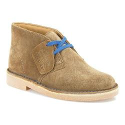 Boys' Clarks Desert Boot Junior Tan Suede