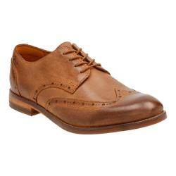 Men's Clarks Exton Brogue Tobacco Leather