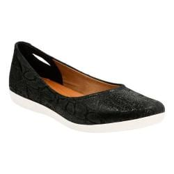 Women's Clarks Helina Alessia Slip On Black Suede