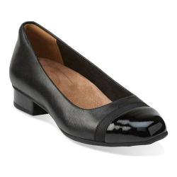 Women's Clarks Keesha Rosa Slip-On Black Leather