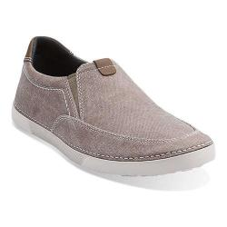 Men's Clarks Neelix Fly Grey Canvas