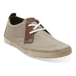 Men's Clarks Neelix Vibe Green Canvas