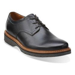 Men's Clarks Newkirk Plain Black Leather
