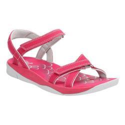 Women's Clarks Tresca Trace Ankle Strap Sandal Fuchsia Synthetic