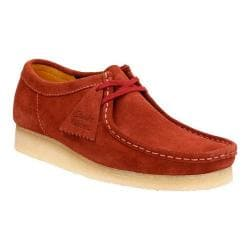 Men's Clarks Wallabee Terracotta Suede