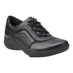 Women's Clarks Wave Skip Sneaker Black Leather