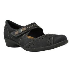 Women's Cobb Hill Nadia Mary Jane Black Leather