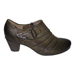Women's Gabor 15-282 Leather Bootie Bosco Old Nappa Wax
