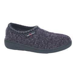 Haflinger ATB Closed Heel Hardsole Navy Speckle