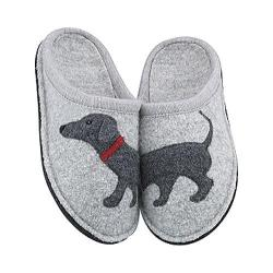 Women's Haflinger Doggy Silver Grey