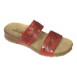Women's Haflinger Grace Sandal Cherry
