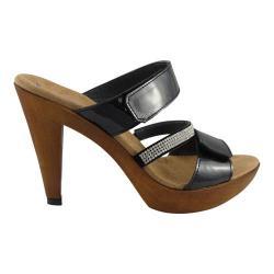 Women's Helle Comfort Natascha Sandal Black Patent