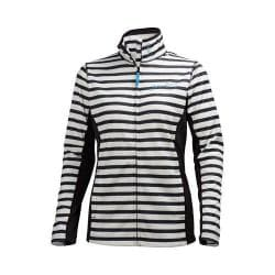 Women's Helly Hansen Graphic Fleece Jacket Black Print