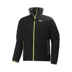 Men's Helly Hansen Regulate Midlayer Jacket Black/Lime