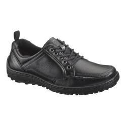 Men's Hush Puppies Belfast Oxford MT Black Leather