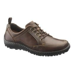 Men's Hush Puppies Belfast Oxford MT Brown Leather