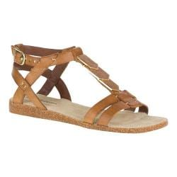 Women's Hush Puppies Bretta Jade Ankle Strap Sandal Tan Leather