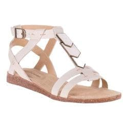 Women's Hush Puppies Bretta Jade Ankle Strap Sandal White Leather