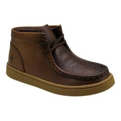 Boys' Hush Puppies Bridgeport 2 Chukka Boot Brown Leather