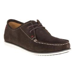 Men's Hush Puppies Briggs Portland Moc Toe Dark Brown Suede