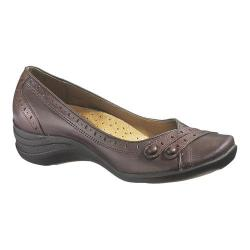 Women's Hush Puppies Burlesque Dark Brown Leather