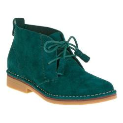 Women's Hush Puppies Cyra Catelyn Chukka Dark Green Suede