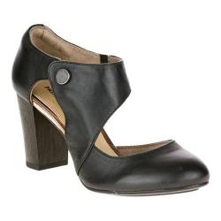 Women's Hush Puppies Devynn Sisany D'Orsay Black Leather