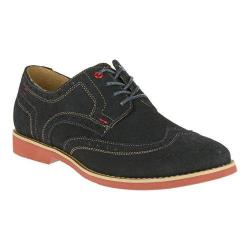 Men's Hush Puppies Fowler EZ Dress Wingtip Derby Navy Suede