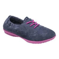 Girls' Hush Puppies Lexi Navy Suede