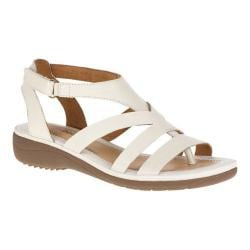 Women's Hush Puppies Maben Keaton Strappy Sandal Off White Leather