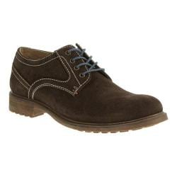 Men's Hush Puppies Rohan Rigby Oxford Dark Brown Suede