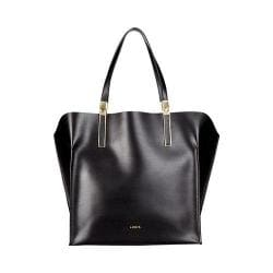 Women's Lodis Blair Unlined Lucia Travel Tote Black/Cobalt